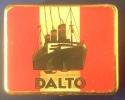 Boîte En Metal Vide De Marque DALTO De 9x6x1,5 Cm - Boites à Tabac Vides