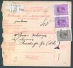 Yugoslavia Kingdom 1928 Sprovodni List - Parcel Card Novigrad - Rudopolje B151123 - 1931-1941 Kingdom Of Yugoslavia