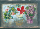 Relief - Gaufrée - Embossed - Prage - Colombe - Superbe Collage - TBE - Non Classés