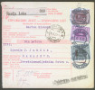 Yugoslavia Kingdom 1929 Sprovodni List - Parcel Card Skofja Loka - Sarajevo B151123 - 1931-1941 Kingdom Of Yugoslavia
