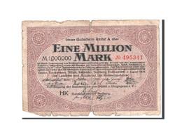 Allemagne, Duren, Euskirchen, Julich, Schleiden, 1 Million Mark 3.8.1923 - Andere