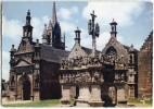 Ensemble De GUIMILIAU - Eglise, Calvaire - écrite Et Timbrée - 2 Scans - Guimiliau