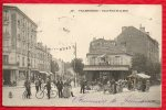 93 VILLEMOMBLE Rond Point De La Gare - Café, Commerces Ambulants, Drapeaux, Jour De Marché,- Précurseur 1904 - TBE - R/V - Villemomble