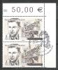 EUROPA- ANDORRA CORREO FRANCES 2 SELLOS DEL 2015 * MATASELLOS DE PRIMER DIA (C.H.C11.15) - Used Stamps