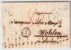"""Belgien, 1852, """" VROENHOVEN """" - Distribution  A L` Etranger !  , #4293 - 1830-1849 (Belgique Indépendante)"""
