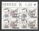 EUROPA- ANDORRA CORREO FRANCES 4 SELLOS DEL 2015 * MATASELLOS DE PRIMER DIA (C.H.C11.15) - Used Stamps