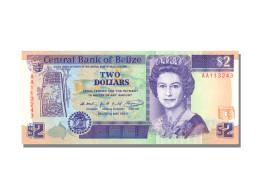2 Dollars Type Elisabeth II - Belize