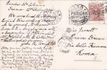 Italy 1927 Used Postcard, Siena Chiesa Di S.Domenico - Postcards