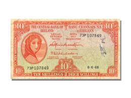 IRLANDE, 10 Shillings Type Lady Hazel - Irlande