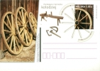 Poland Pologne, Crafts, Professions: Wheelwright, Wheeler, Charron, Wheel, 2011 - Arts