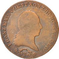 Autriche, François II, 3 Kreuzer 1812 S (Schmollnitz), KM 2116 - Autriche