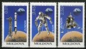 MOLDAVIE:  N°96/98 **    - Cote 10,50€ -   (Europa) - Moldavie