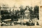 CP 88 Vosges   GRANGES Inauguration Du Monument Patriotique 1901 1902 - Autres Communes