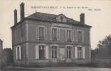 CPA - Bleigny Le Carreau - La Mairie Et Les Ecoles - Autres Communes