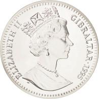 Gibraltar, Élisabeth II, 21 Ecus 1995, UE - Autriche, Finlande Et Suède, KM 498 - Gibraltar