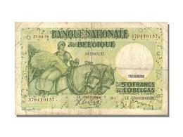 10 Belgas / 50 Francs Type Anto Carte Trésorerie - [ 6] Treasury