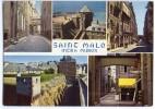 SAINT-MALO Intra-Muros - Multivues - écrite Non Timbrée - 2 Scans - Saint Malo