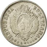 Monnaie, Bolivie, 5 Centavos, 1876, TTB, Argent, KM:157.1 - Bolivia