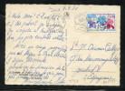 MAURY N° 1597 : 40C FLORALIES DE PARIS   SEUL S/CPE Pr ESPAGNE: OM 09/09/70 - Marcophilie (Lettres)