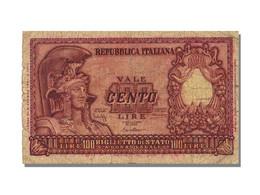 Italie, 100 Lire Type 1951 - [ 2] 1946-… : République