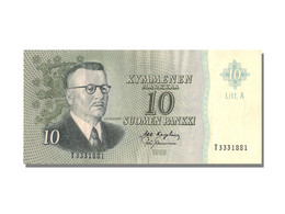 Finlande, 10 Markkaa Type J.K. Paasikivi - Finlande