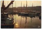 SAINT-MALO - Soir D´été Sur Les Bassins - écrite Et Timbrée - 2 Scans - Saint Malo