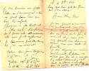 Lettre D'un Soldat écrite 1917 - Documents Historiques