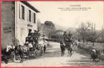 CPA 15 VELZIC La Halte Des Courriers  Vallée De Mandailles   ( Ro5 Près VIC SUR CERE - Francia