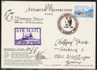 ANTARCTIC, AAT, MACQUARIE, 8.DEC 2000, Color-card  + 2 Cachets+sign , Look Scan !! 18.11-03 - Antarctische Expedities