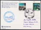 """ANTARCTIC, AAT, CASEY, 18.JAN 1990, MAXI-color-card , Stopover M/V""""ICEBIRD"""" Cachet+sign , Look Scan !! 18.11-07 - Antarctische Expedities"""