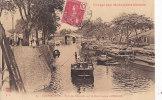 Au - Cpa COCHINCHINE - Pont Des Chantiers Sur Le Rach Logom à CHOLON - Voyage Aux Monuments Khmers - Viêt-Nam