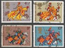 Great Britain. 1974 Medieval Warriors. Used Complete Set. SG 958-961 - Used Stamps