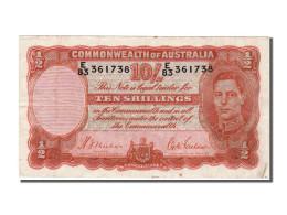 Australie, 10 Shillings Type Georges VI - Australië