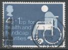Great Britain. 1974 Health And Handicap Funds. 4½p + 1½p Used. SG 970 - 1952-.... (Elizabeth II)