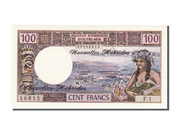 Nouvelles Hébrides, 100 Francs Type 1970 - Vanuatu