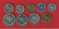 Croatie  --   Lot De 9 Monnaies  --- - Croatia