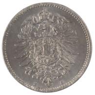 Allemagne, Wilhelm I, 1 Mark - [ 2] 1871-1918: Deutsches Kaiserreich