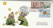 1993 LEWISBURG OHIO 175th Anniv USA EVENT COVER Stamps Water Conservation Envrivonment Skiiing Ski Sport - United States