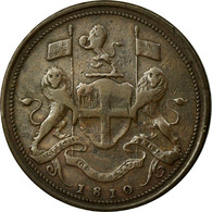 Monnaie, MALAY PENINSULA, PENANG, Cent, Pice, 1810, British Royal Mint, TTB - Malaysie