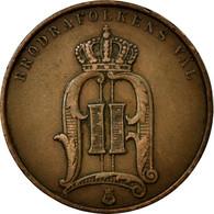 Monnaie, Suède, Oscar II, 5 Öre, 1891, TTB, Bronze, KM:757 - Suède