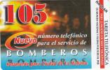 "CUBA(Urmet) - Bomberos, ""105"" Emergency Number, 07/03, Mint - Firemen"