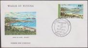Wallis & Futuna 1975 Y&T PA 70. Paysage, anse de Gahi � Wallis, sur enveloppe premier jour, FDC