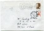 ST PIERRE ET MIQUELON LETTRE DEPART 975 ST PIERRE 12-1-1988 TAXEE A ST PIERRE 13-1-1988 POUR ST PIERRE - Lettres & Documents