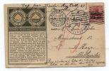 Belgium ALGEMEEN NEDERLANDSCH VERBOND POSTAL CARD 1915 - WW I