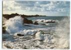 Bretagne - Tempête Par Grande Marée - écrite Non Timbrée - 2 Scans - Bretagne