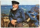 Bretagne - Vieux Pêcheur - écrite Non Timbrée - 2 Scans - Bretagne