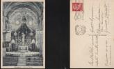 2652) ALESSANDRIA OCCIMIANO INTERNO CHIESA VIAGGIATA 1939 RARA - Alessandria