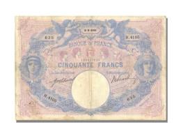 50 Francs Type Bleu Et Rose - 1871-1952 Anciens Francs Circulés Au XXème
