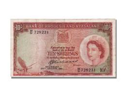 Rhodésie, 10 Shillings Elisabeth II - Rhodésie