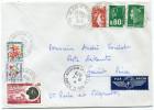 ST PIERRE ET MIQUELON LETTRE PAR AVION AVEC TAXE MIXTE FRANCE / SAINT PIERRE ET MIQUELON - St.Pierre Et Miquelon